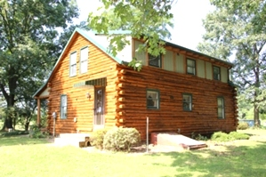 Log Cabin Staining by the LogDoctors